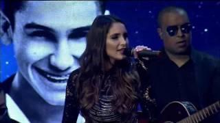 Presentación Romina Palmisano Ft La Melodía Perfecta Premios Pepsi Music 2017