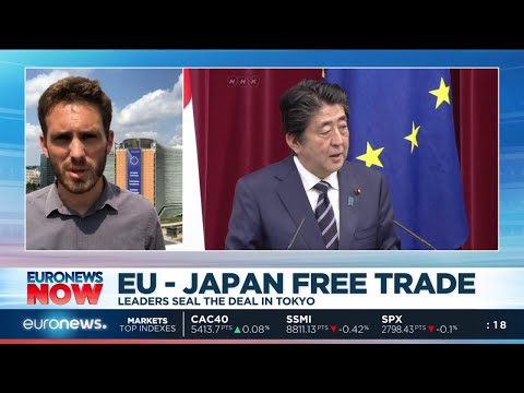 EU-Japan Free Trade: leaders seal the deal in Tokyo