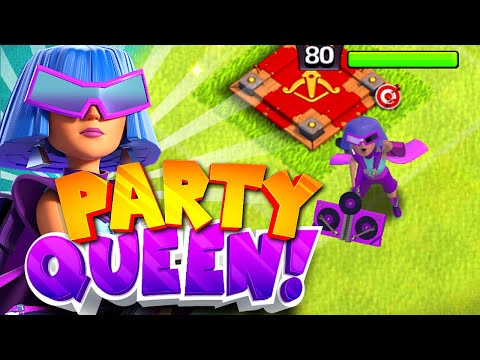 The PARTY QUEEN has arrived!! | Clash Of Clans | august season