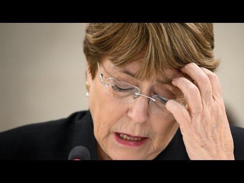 Bachelet expresa preocupación por detención de Marrero en Venezuela