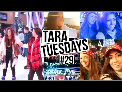Thanksgiving @ Disneyland, SKATING FAIL + Last Tara Tuesday!!!
