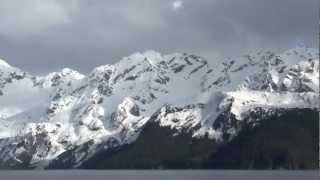 Seward, Alaska.   NASJA cruises Resurrection Bay on Fjord watch