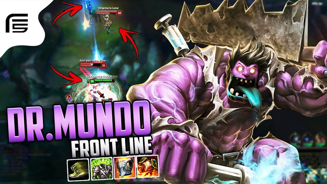 Dr mundo top gameplay build escravo buff muito for Mundo top build