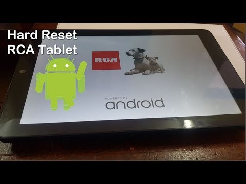 How To Hard Reset A RCA Tablet