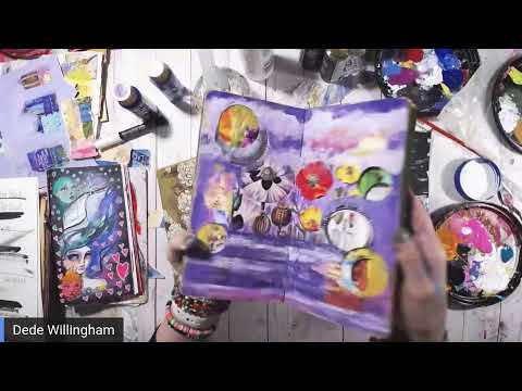 Make A Book of Collage Paper and New Pens