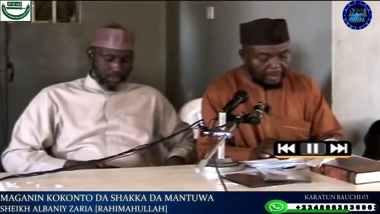 Download Maganin Kokonto da Shakka da Mantuwa: Sheikh Albaniy Zaria Rahimahullah