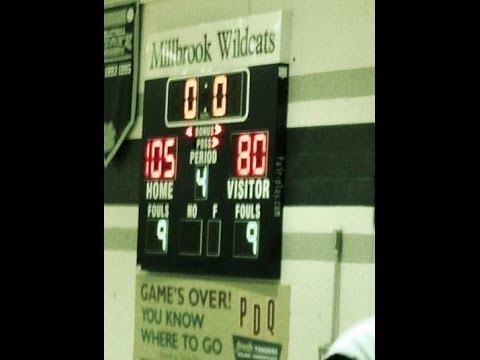 Millbrook scores 105 points vs. Heritage