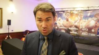 EDDIE HEARN ON PACQUIAO v KHAN & McDONNELL v VARGAS, OPERATION WHYTE RHINO **FEAT DAVE ALLEN**