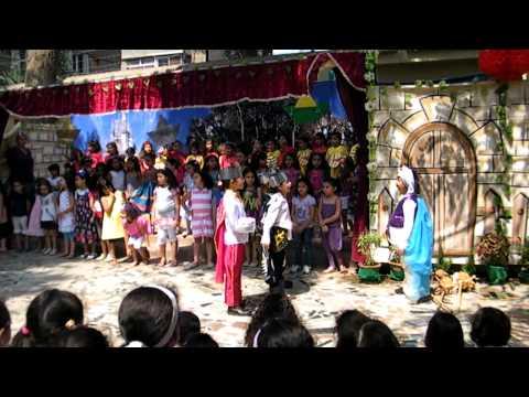 DSB- Deutsche Schule der Borromaerinnen in Kairo Kindergarten Performance -Vorschule 18-6-2011