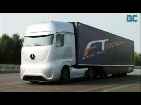 Mercedes self-driving truck 2025, Cars Channel