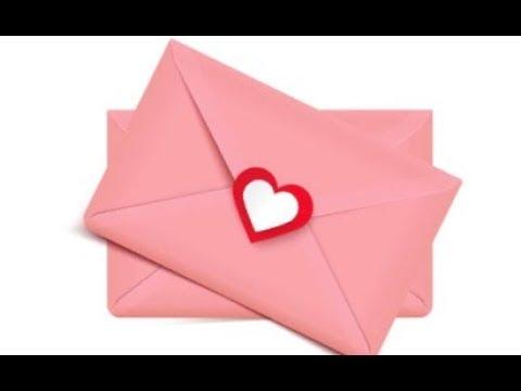 Как сделать красивый конверт