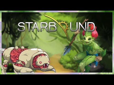 Испытание от людей-цветов || Starbound #3