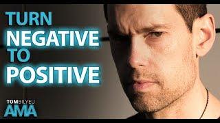 The Power of A Positive Mindset  Tom Bilyeu AMA