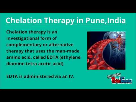 Chelation Therapy in Pune,India