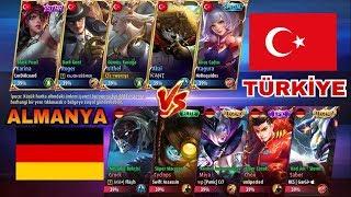 Mobile Legends- ASLA PES ETME ULUSAL MAÇ TÜRKİYE-ALMANYA