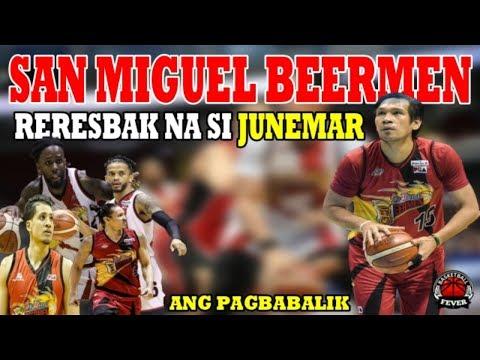 San Miguel Beermen | Reresbak na si JuneMar Fajardo | Ang Pagbabalik ni Abay !
