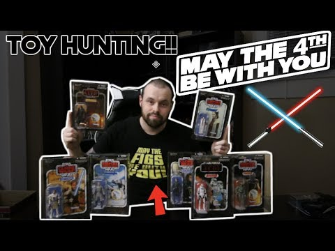 TOY HUNTING ON STAR WARS DAYFORCE FRIDAY?MAY THE 4TH BE WITH YOU