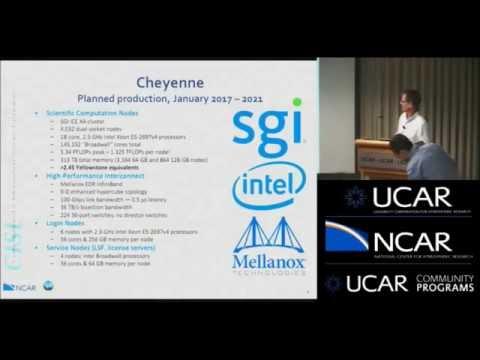 Cheyenne: NCAR's Next-Generation Data-Centric Supercomputing Environment