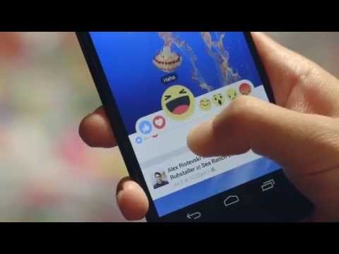VIDEO: FACEBOOK NEW REACTION MORE THAN JUST LIKE BUTTON