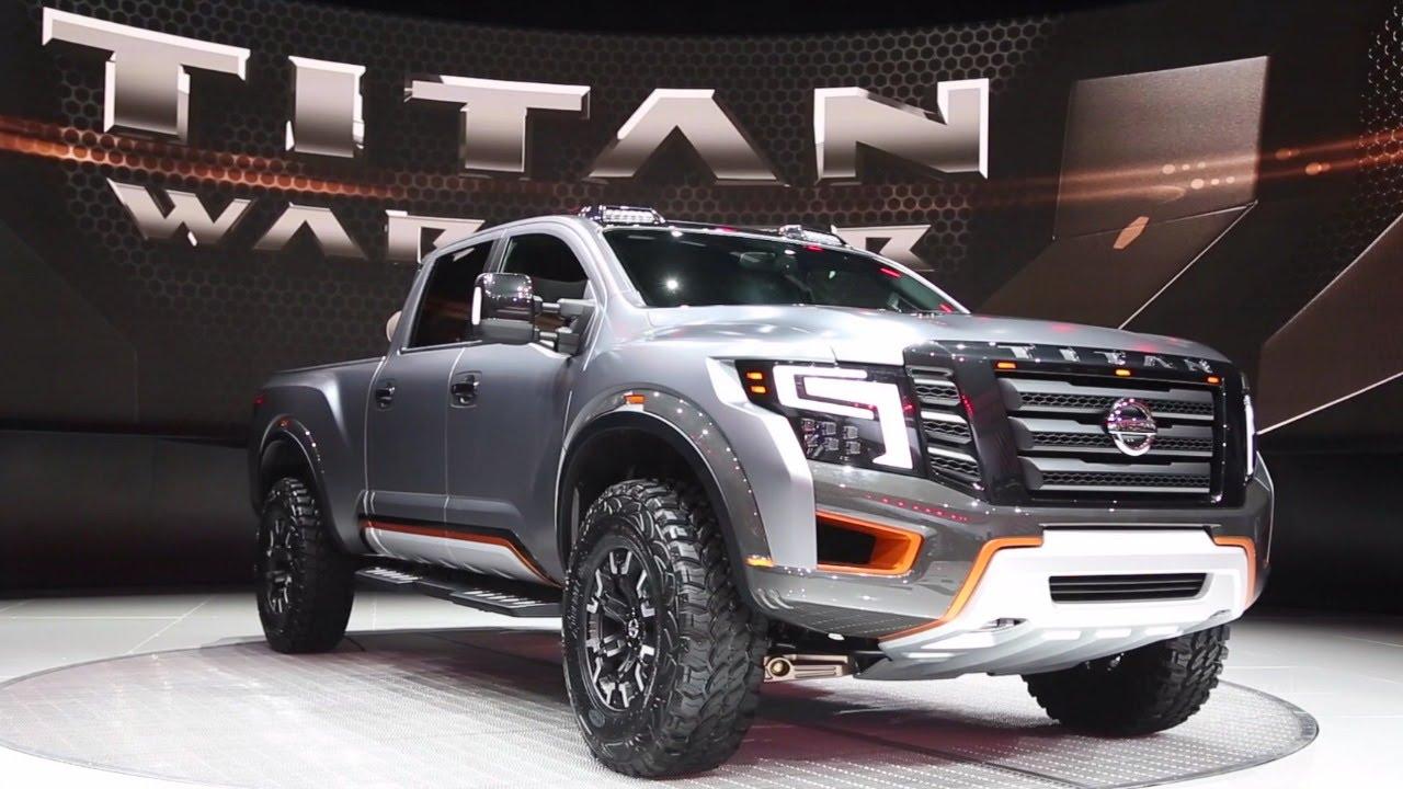 Nissan Titan Warrior Concept 2016 Detroit Auto Show