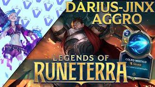 Darius e Jinx per un AGGRO Devastante!   Runeterra ITA