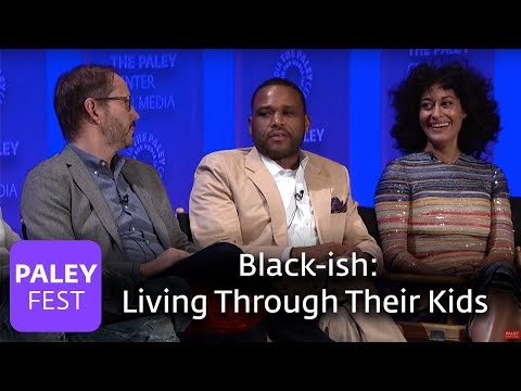 black-ish - Kenya Barris and Anthony Anderson on Living Through Their Children - PALEYFEST LA 2016