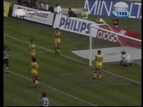 08J :: Sporting - 3 x Fafe - 1 de 1988/1989