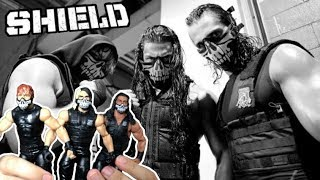 The Shield Elite 3 Pack Review -  WWE Then Now Forever | Mattel Action Figure Unboxing