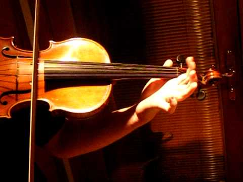 GERMAN VIOLA, PASSACAGLIA by Handel/Halvorsen, Sound Sample, Eboyinc