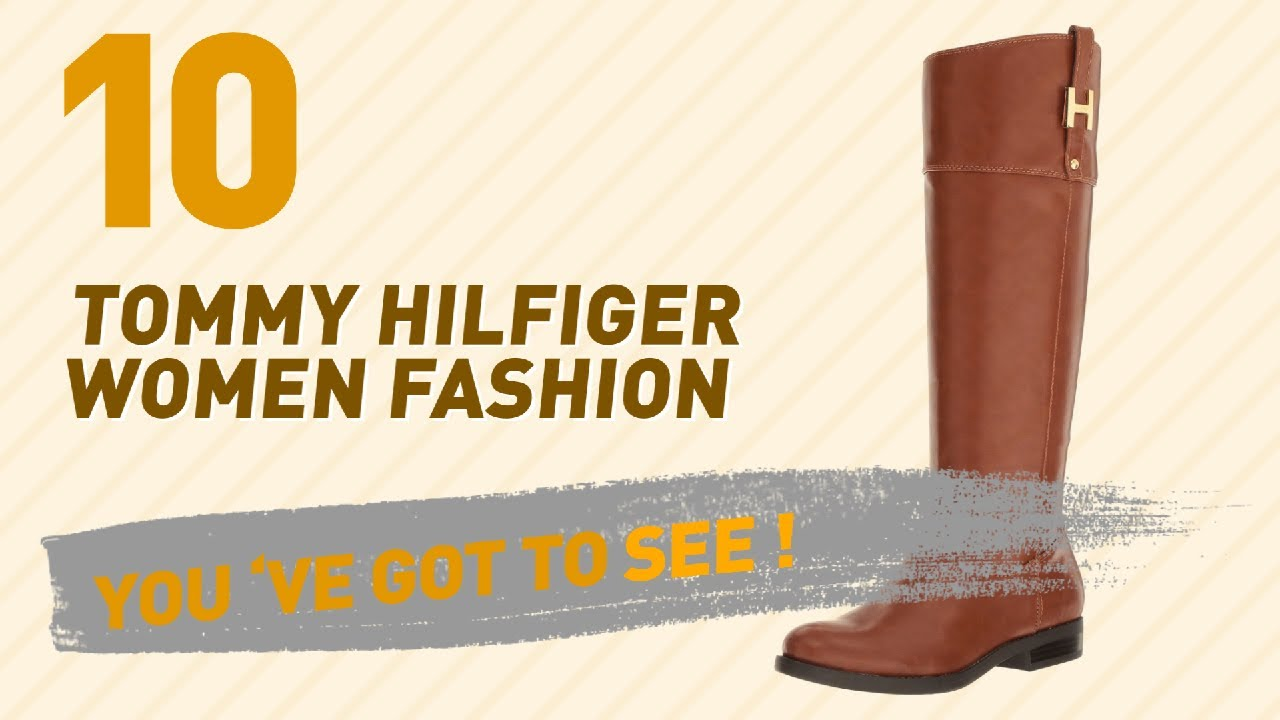 ea8c58d626f799 Tommy Hilfiger Knee-High Shoes    New   Popular 2017 - YouTube