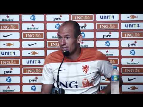 "Arjen Robben: ""It was a stupid action from me"" 