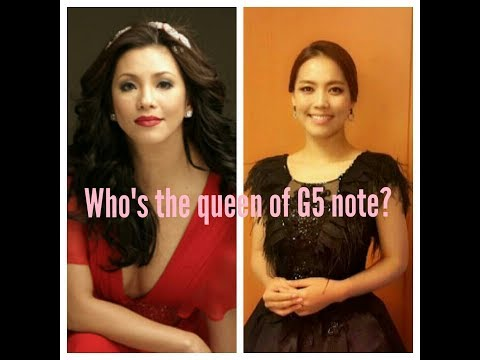 Regine Velasquez VS Kim Sohyang (Who's dominate the G5 Note?) Vocal Battle