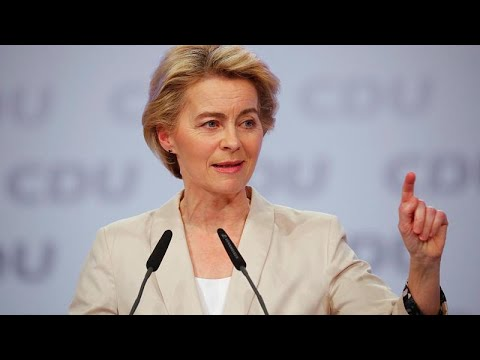 Comissão Von der Leyen votada no Parlamento Europeu