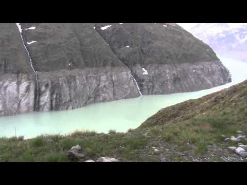 Dam grande dixence - Barrage Grande Dixence - Valais Switzerland - 20.06.2014