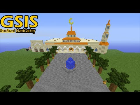 Minecraft Masjid - Grand Strand Islamic Society - FINISHED