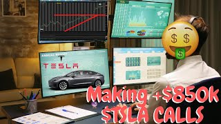 Trader Making Nearly $850,000 In 2 Hours With Tesla Calls  Tsla Stock
