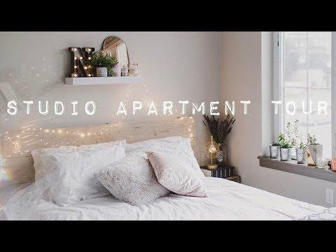 STUDIO APARTMENT TOUR | Downtown Portland, Oregon