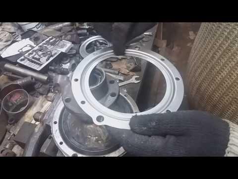 установка уплотнителя поворотного кулака уаз
