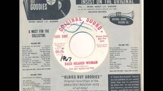 """SOT WEED FACTOR """"Bald Headed Woman"""" 45 rpm"""