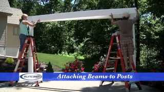 How to Assemble a Suncast Pergola