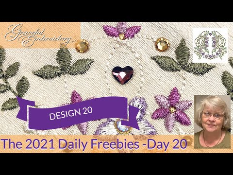 Introducing the 2021 Daily Freebies - Day 20