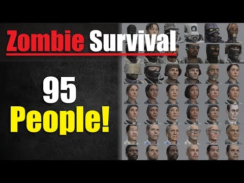 95 Players On ONE Server! - Gmod Zombie Survival