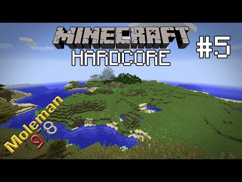 Let's Play Hardcore Minecraft #5 | A Little Exploration