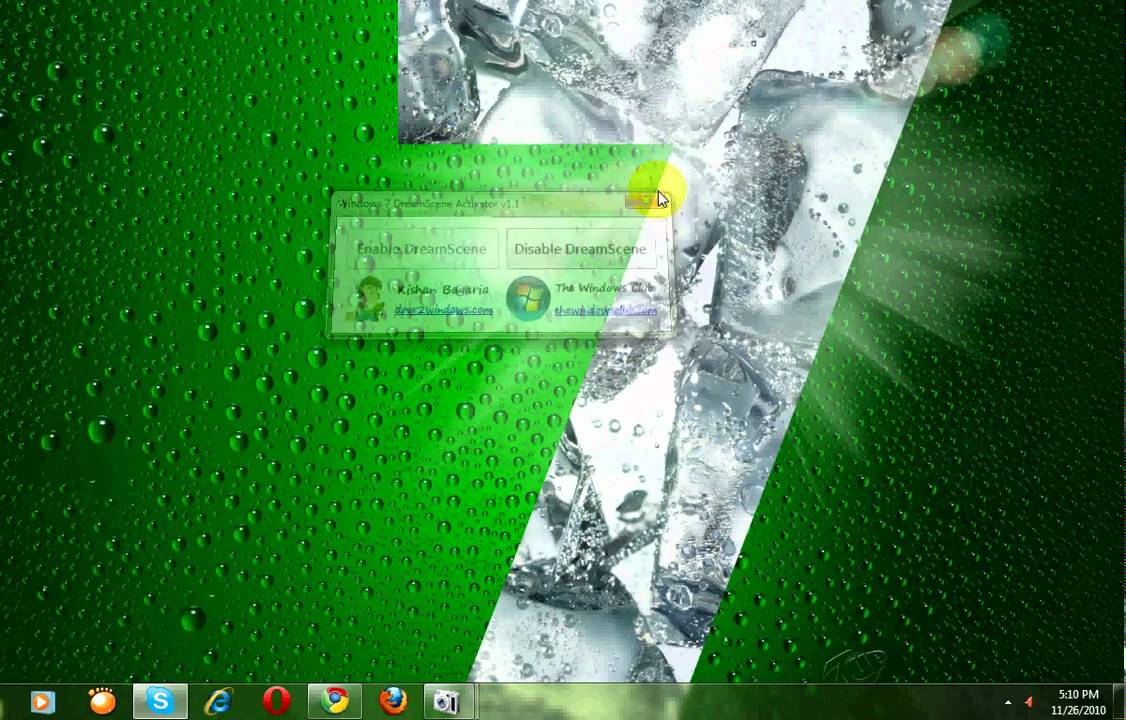 How To Set A Wmv Or Mpeg File As Your Desktop Background In Windows