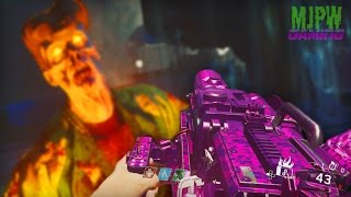 "Pack-a-Punched Mauler LMG ""Mangy Mutt"" Gameplay! (Infinite Warfare Zombies)"