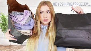 I SPENT $1000 AT BRANDY MELVILLE.. a try on haul full of regret