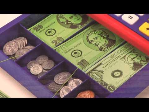 Pretend & Play Calculator Cash Register from Creative Kidstuff