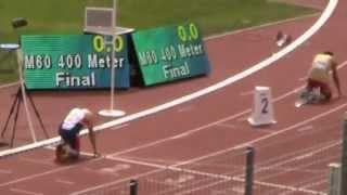 WMA 2015   M60 400m final