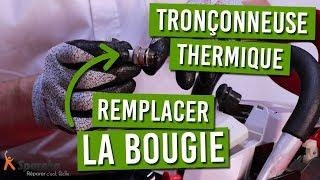 Comment changer la bougie de sa tronçonneuse thermique ?