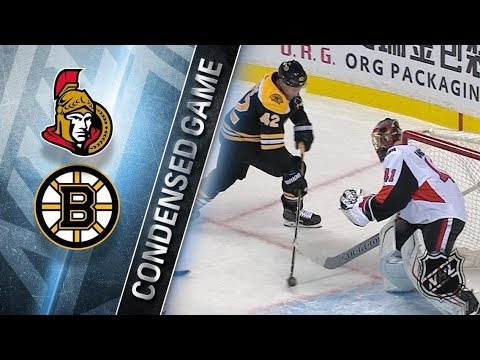 Ottawa Senators vs Boston Bruins – Dec. 27, 2017 | Game Highlights | NHL 2017/18. Обзор матча